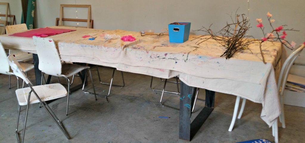 ART CLASS TABLE