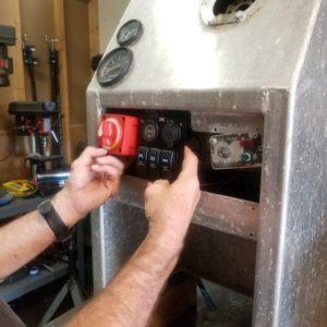 Fabrication: Boat Console